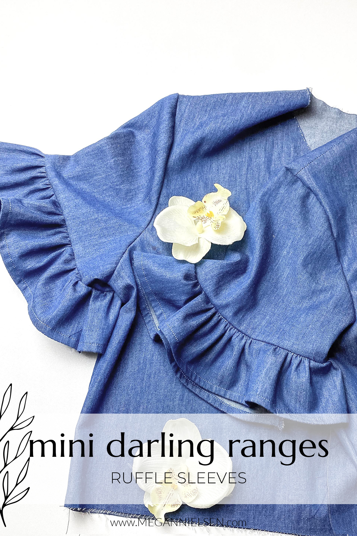 Mini Darling Ranges ruffle sleeves tutorial