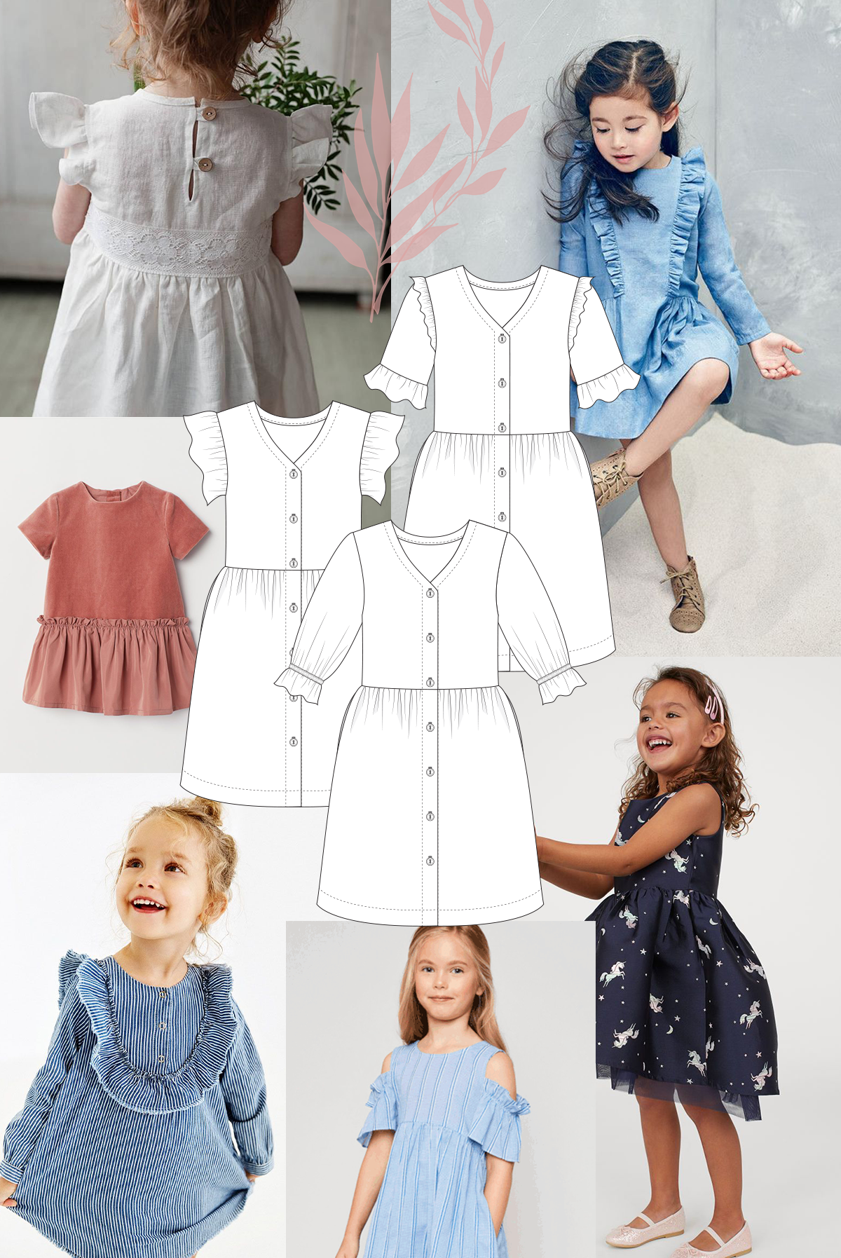Any ruffles or frills can make the Mini Darling Ranges super sweet
