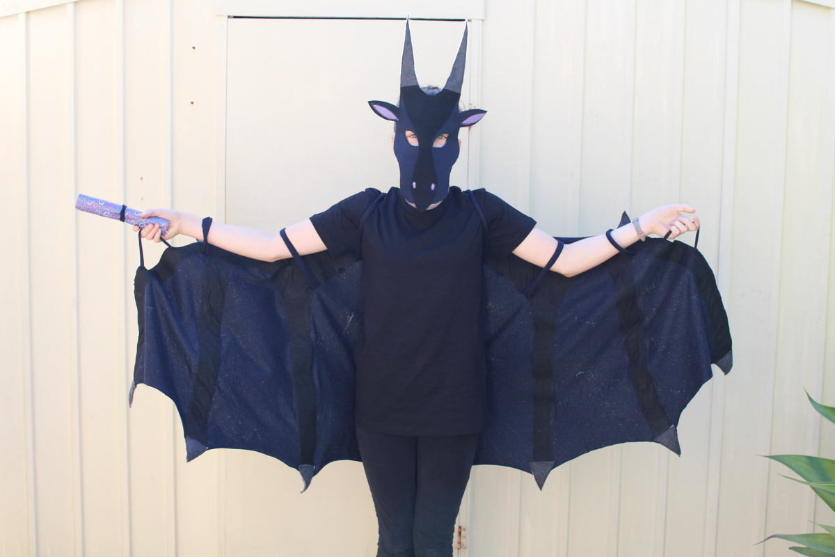 Wings of Fire Moon dragon costume