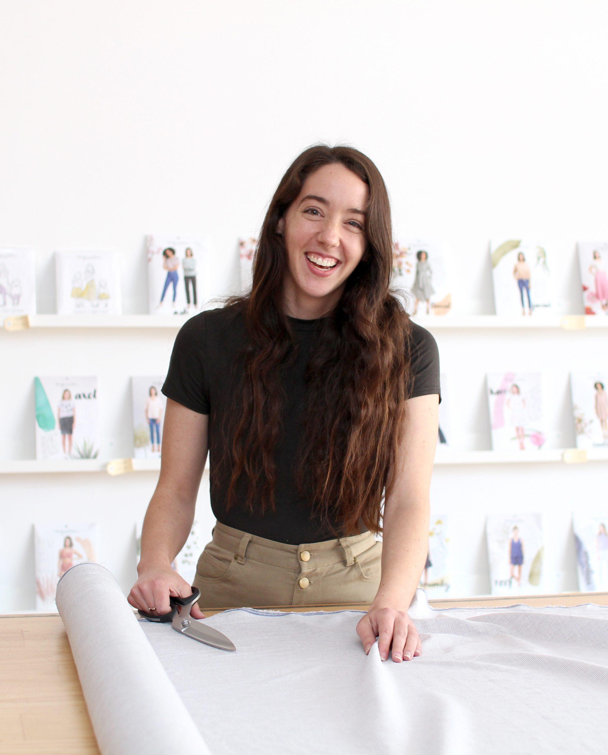 Rowan + Naomi - A Love Story - Naomi's First Short Sleeve Rowan Tee