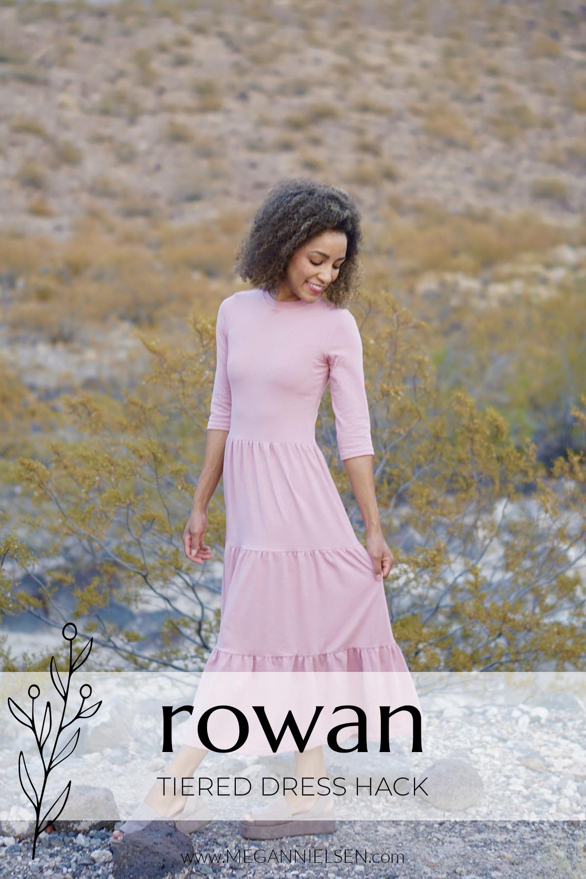 How to make Rowan as a tiered dress