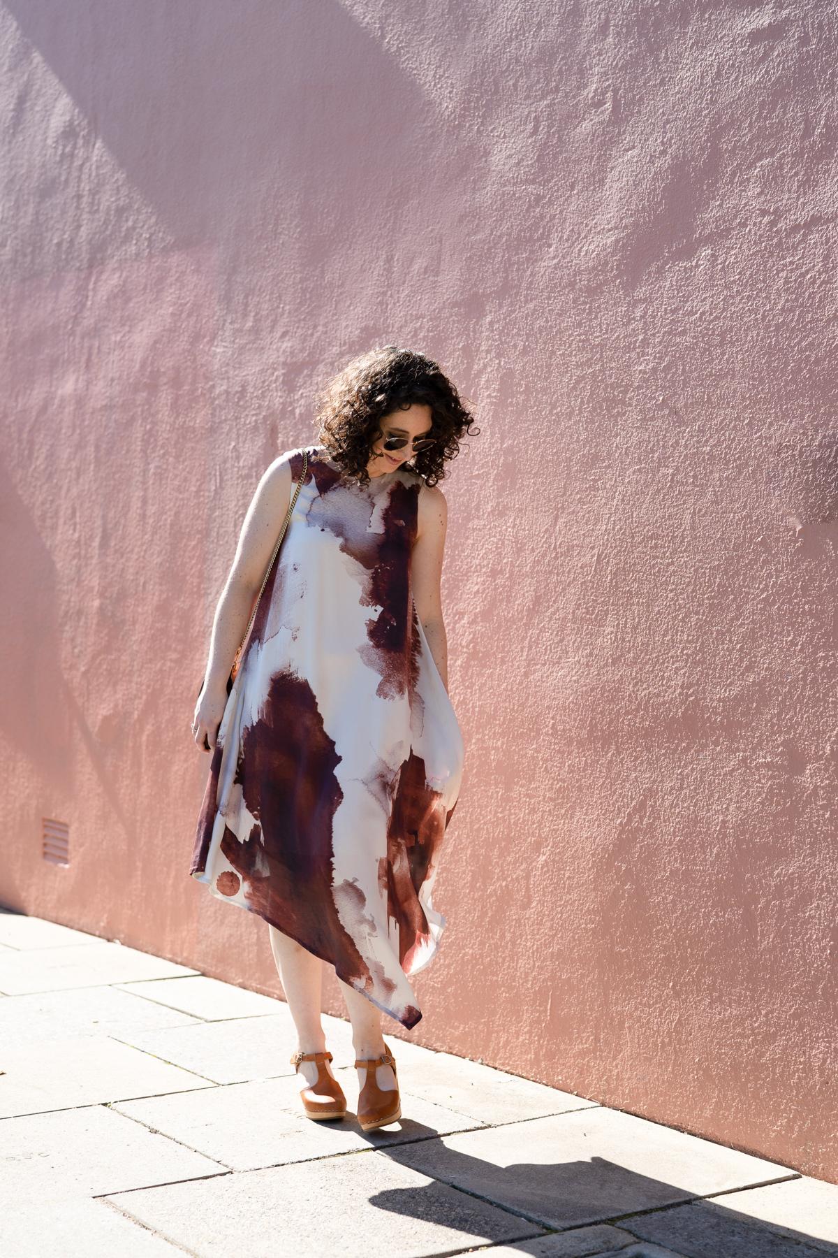 Silk Floreat dress by Megan Nielsen Patterns