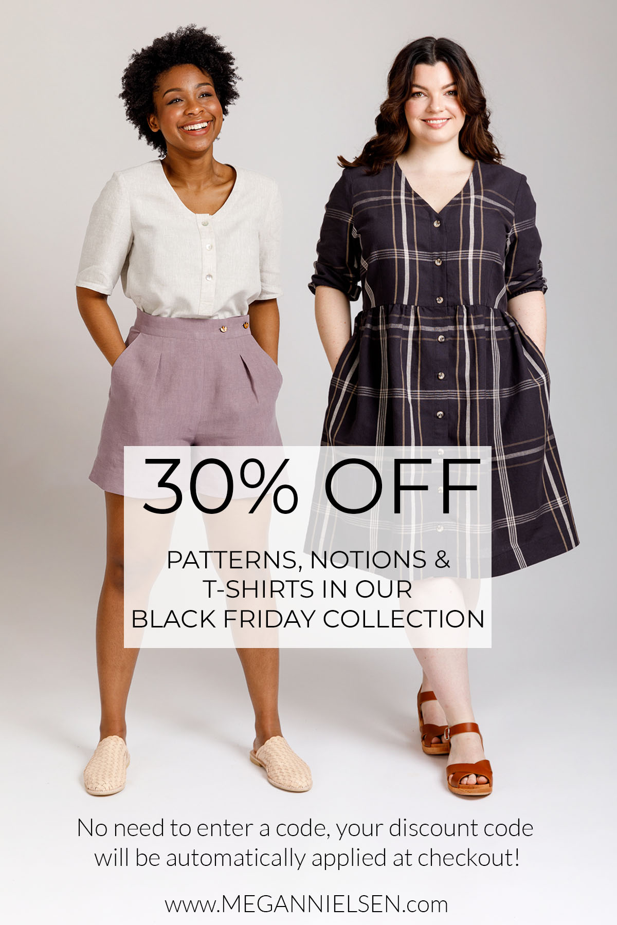 30% off everything in the Black Friday Collection