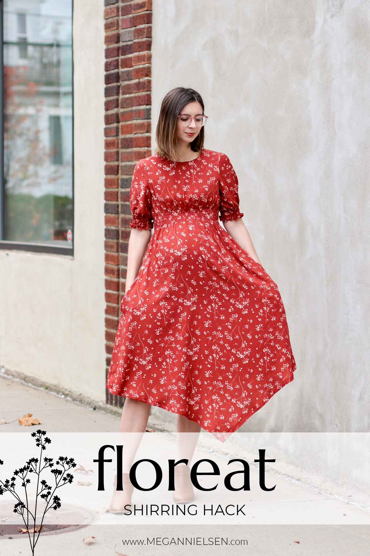 Shirring Hack for the Floreat dress