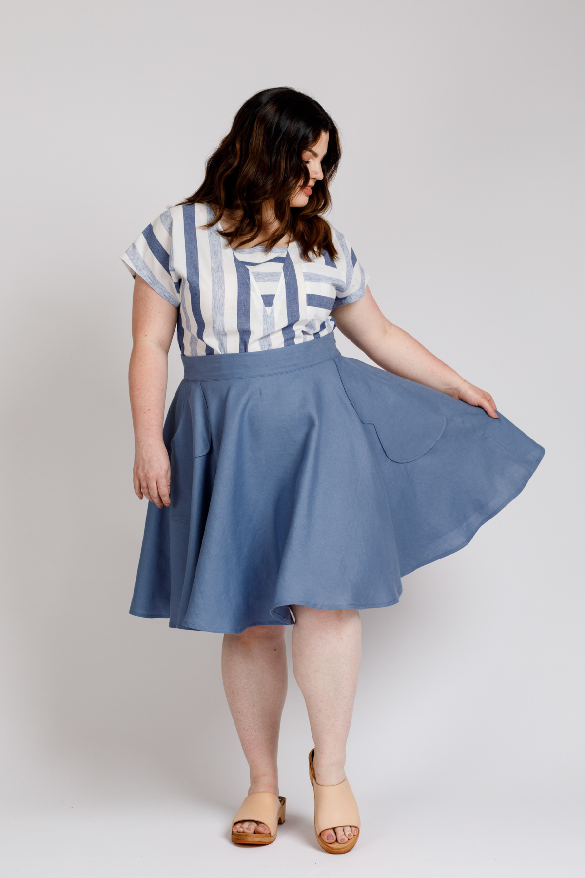 Veronika skirt now available in extended sizes