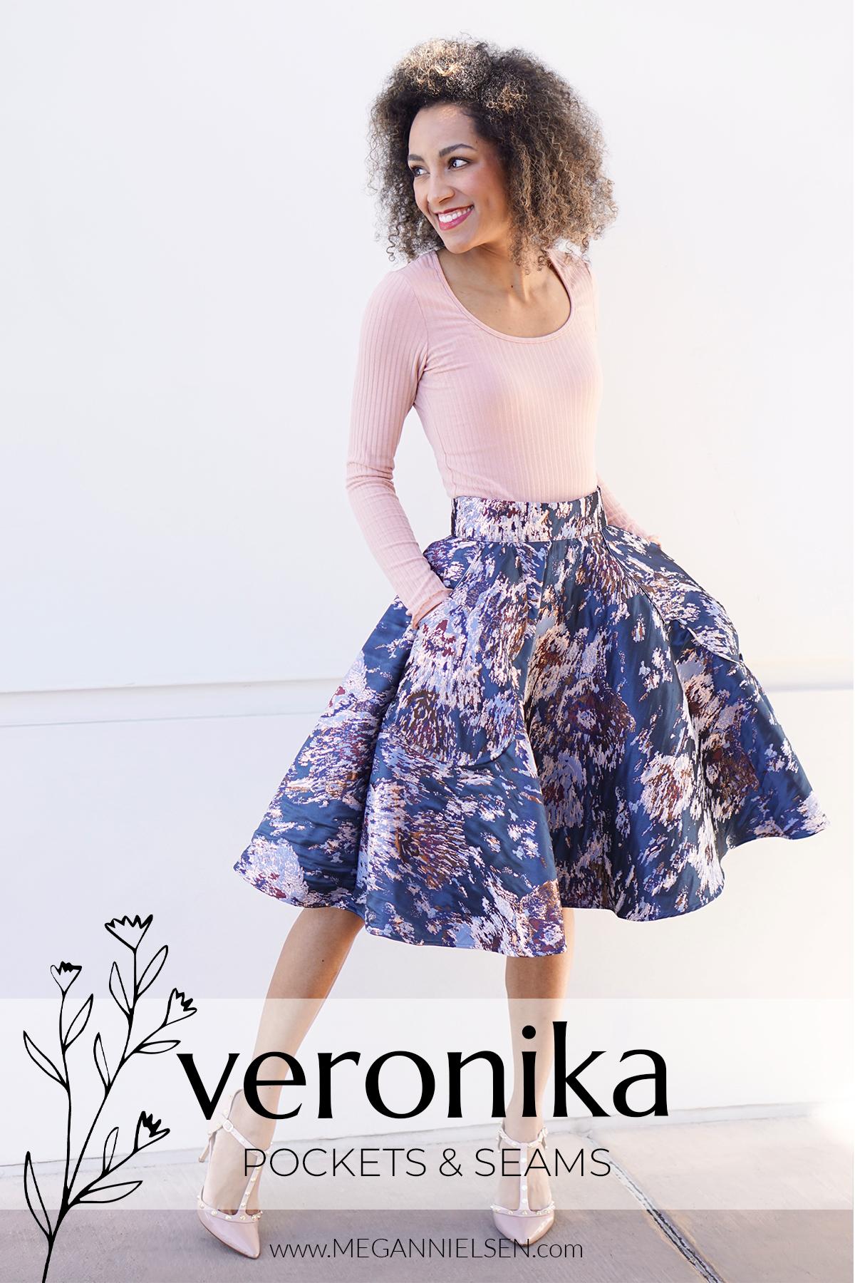 Veronika Sewalong - how to sew pockets & seams