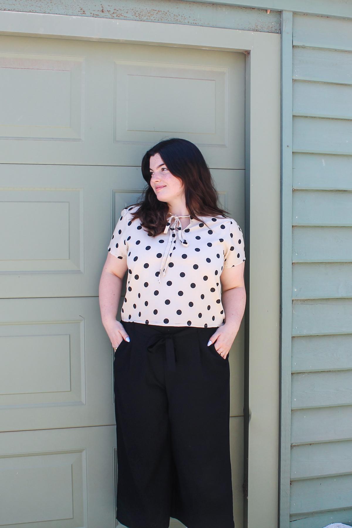 Belle's Sudley blouse