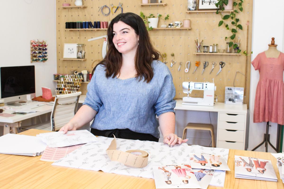 Isabelle | Admin Assistant at Megan Nielsen Patterns