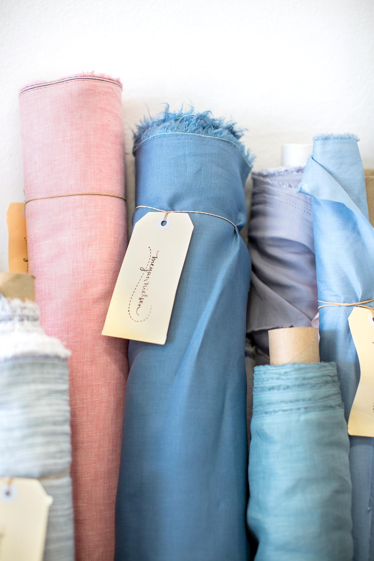 Megan Nielsen Patterns - Fabric In Our Studio