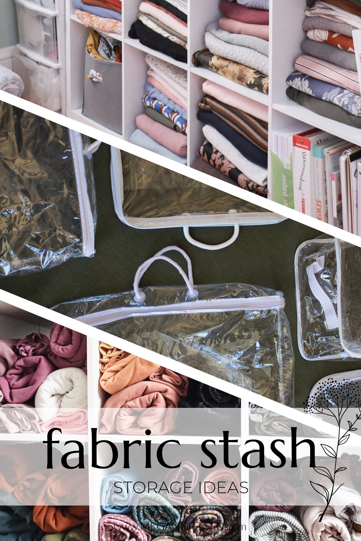 Fabric Stash Storage ideas