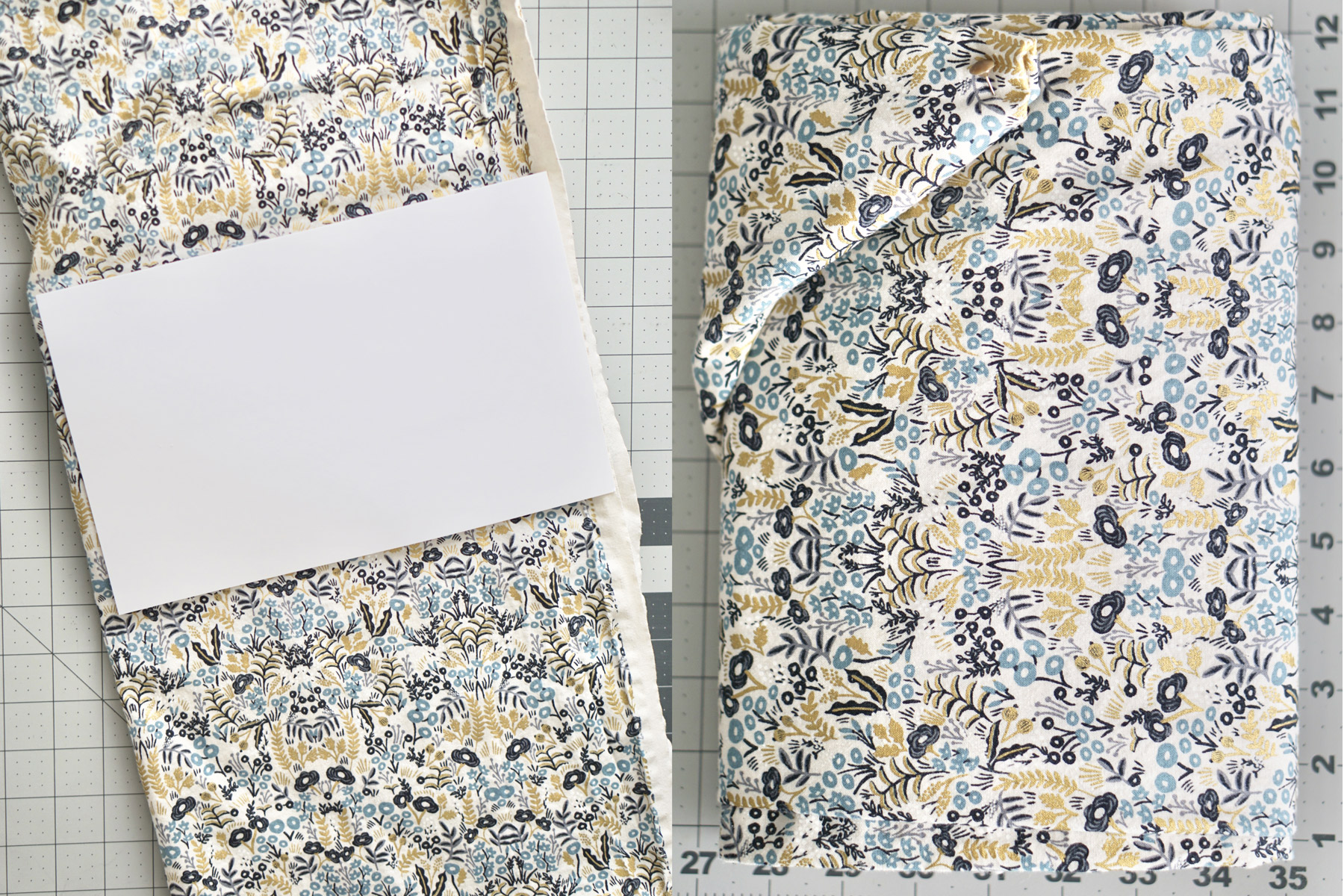 Megan Nielsen Patterns - Nastasia's Tips On How To Fold Fabric For Storage