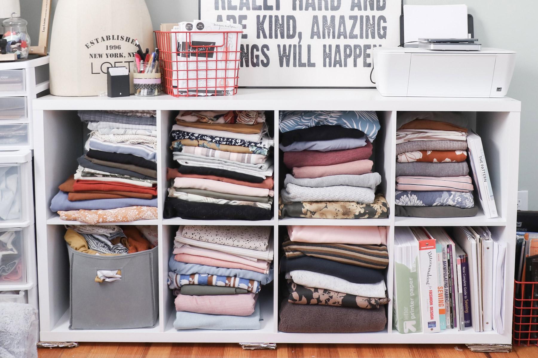 Megan Nielsen Patterns - Holly's fabric stash