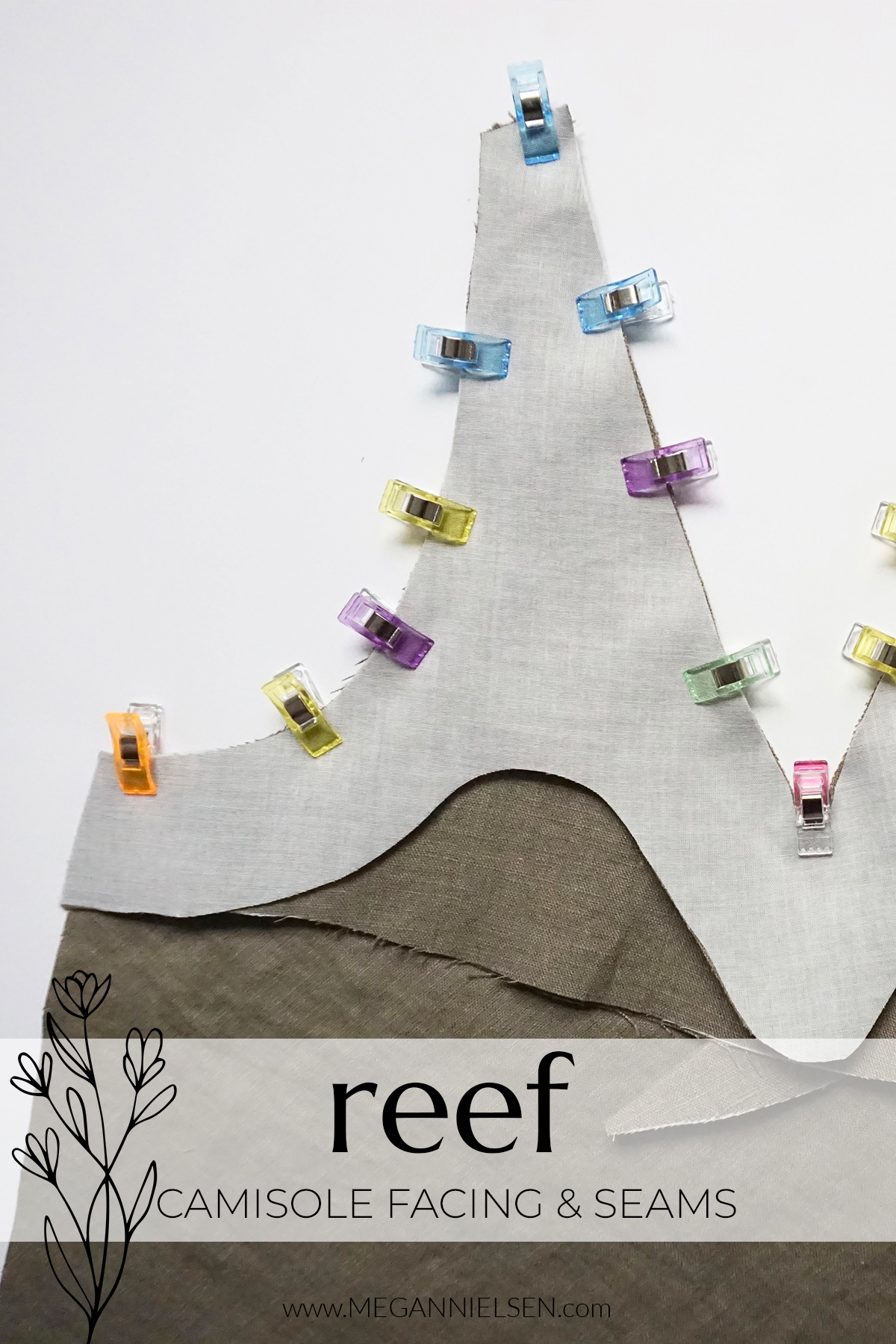 Reef Sewalong Camisole Facing