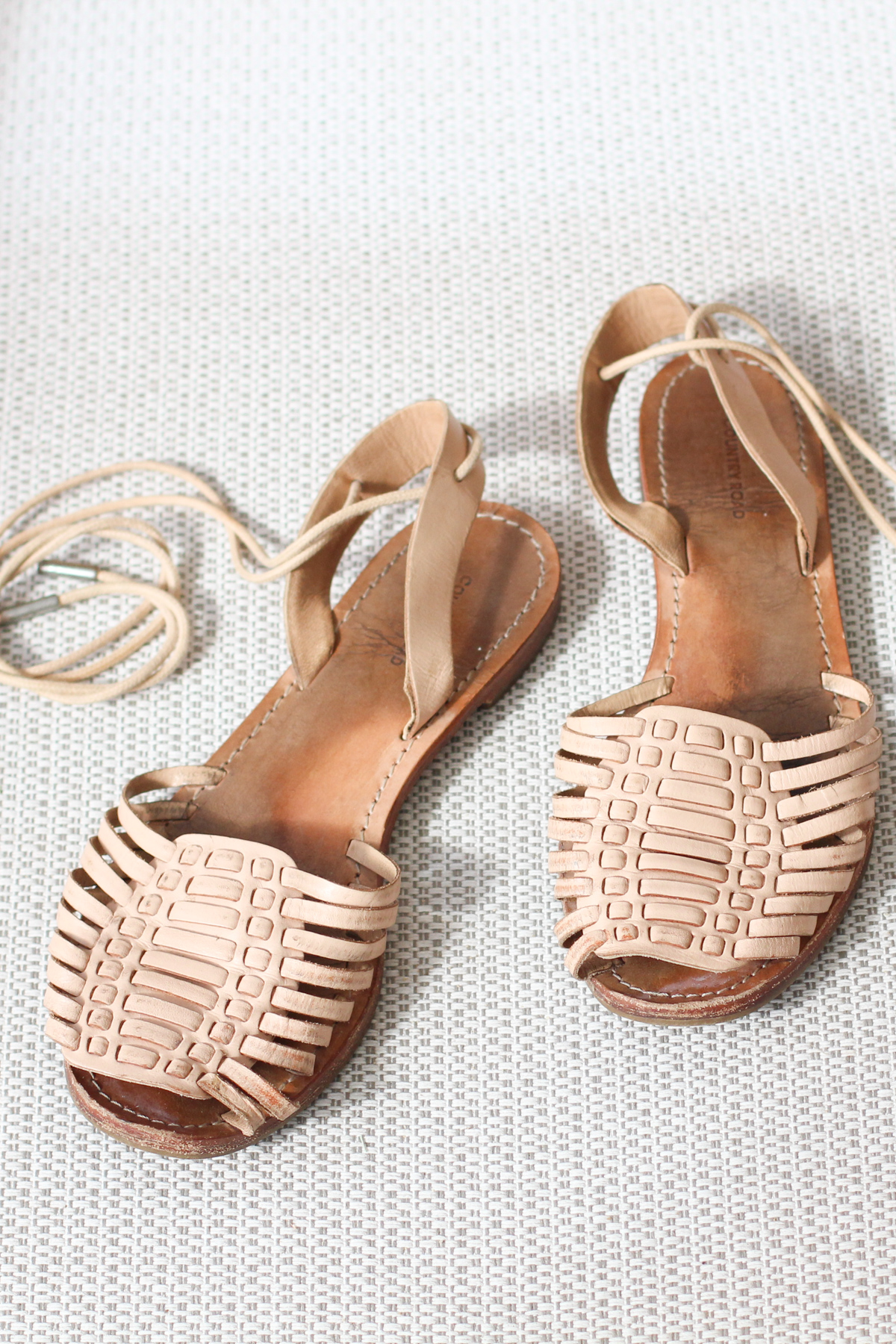 Replicating my favourite sandals: Part 1, the plan!