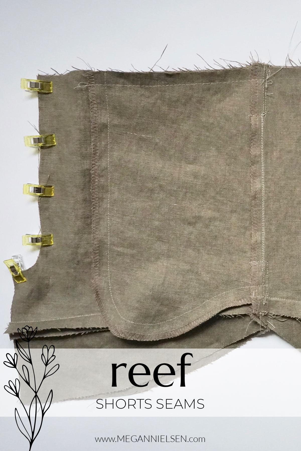 Reef Sewalong Shorts Seams