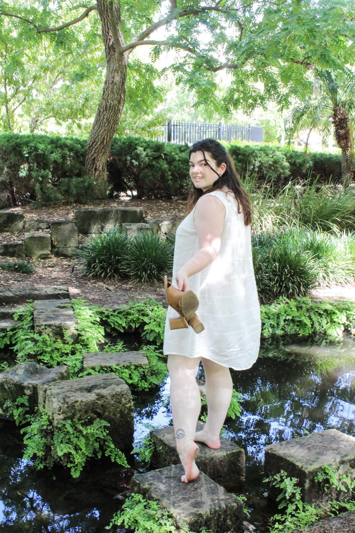 Isabelle sews the Eucalypt dress | A Beginner Sews Eucalpyt on Megan Nielsen Blog
