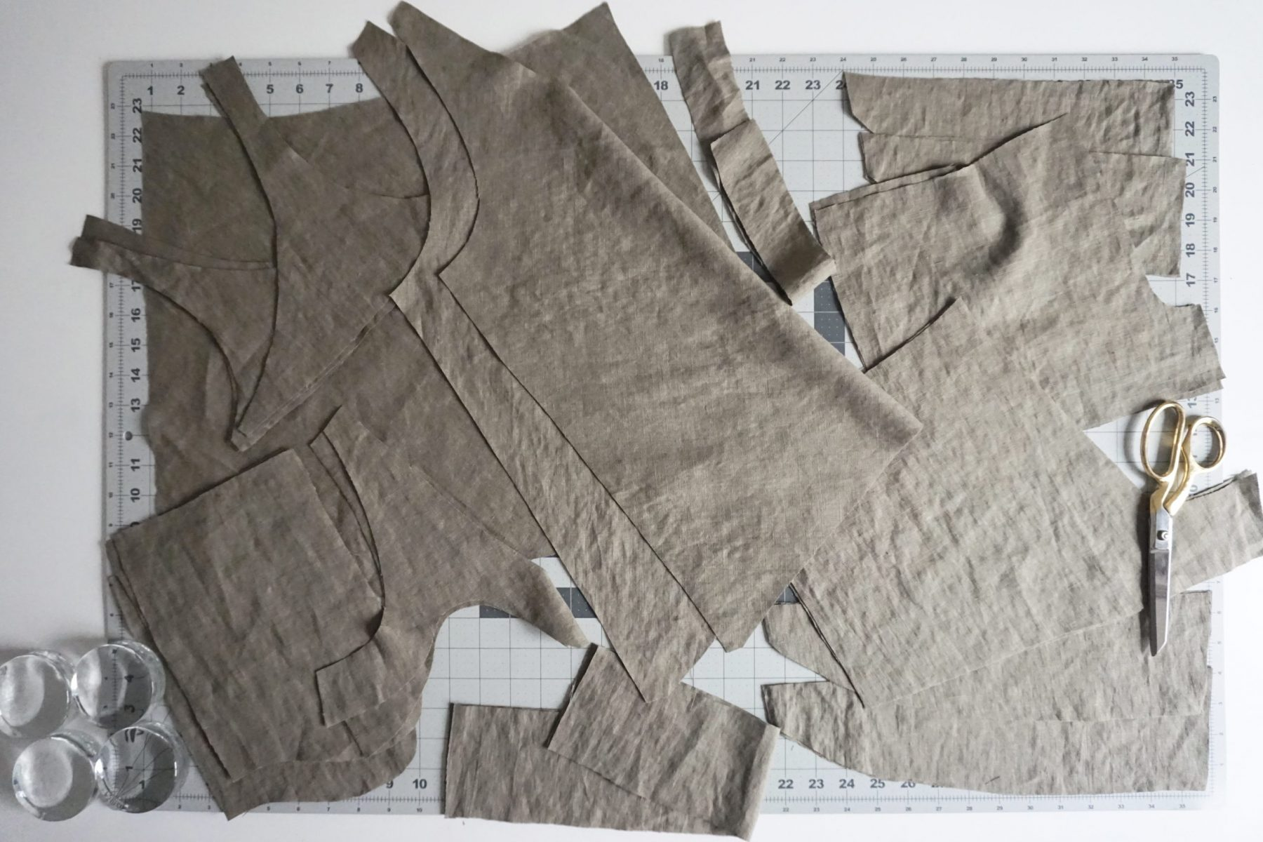 Make sure to cut all your pattern pieces out