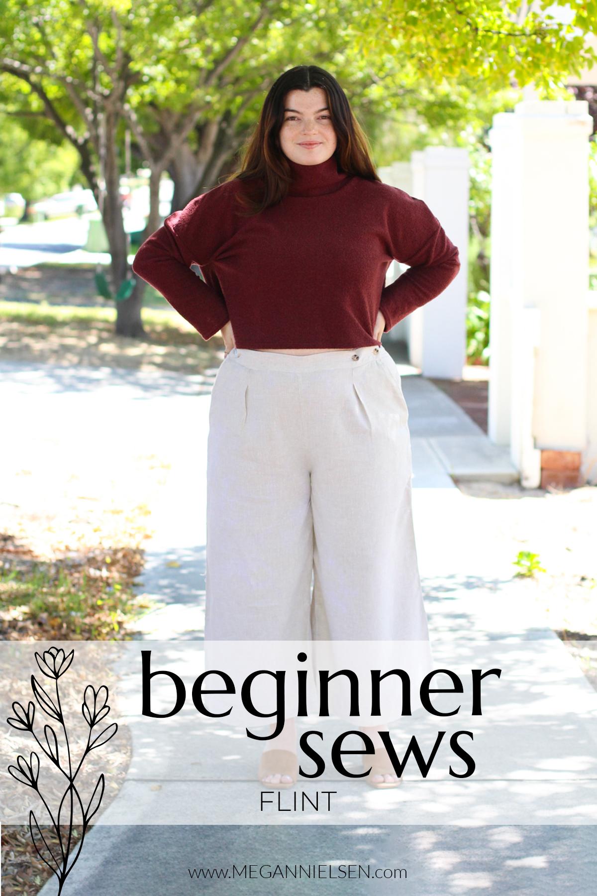 Beginner Sews: Flint Title card