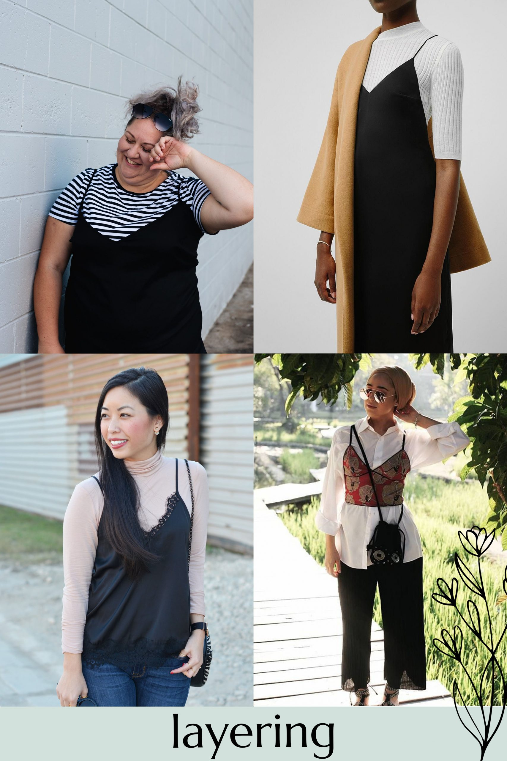 Inspiration for styling of your Reef camisole