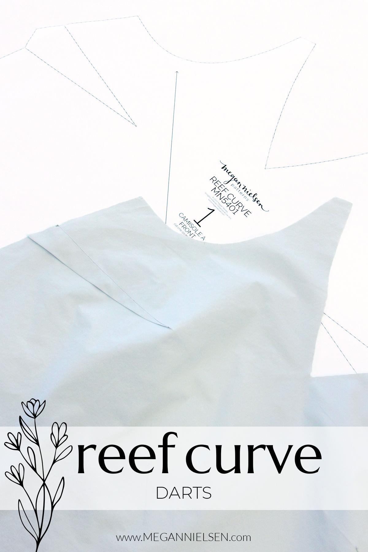 Megan Nielsen Patterns - Reef Sewalong - Curve Darts