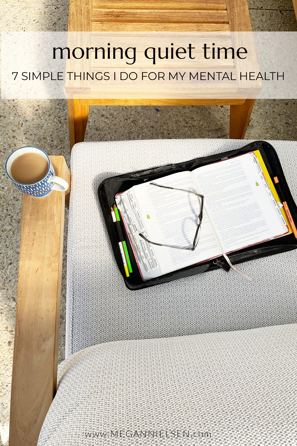 7 Simple Things I Do For My Mental Health | Morning Quiet Time