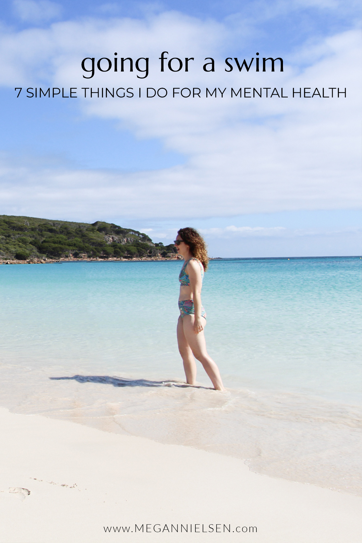 7 Simple Things I Do For My Mental Health | Swimming Laps