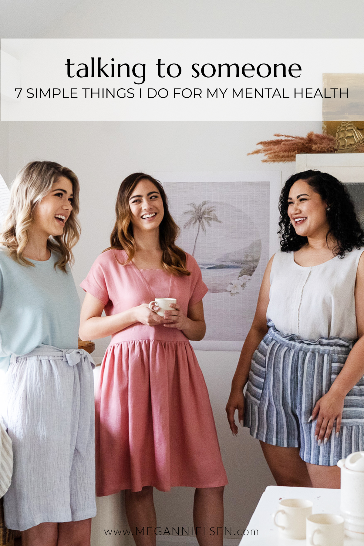 7 Simple Things I Do For My Mental Health | Talking To Someone