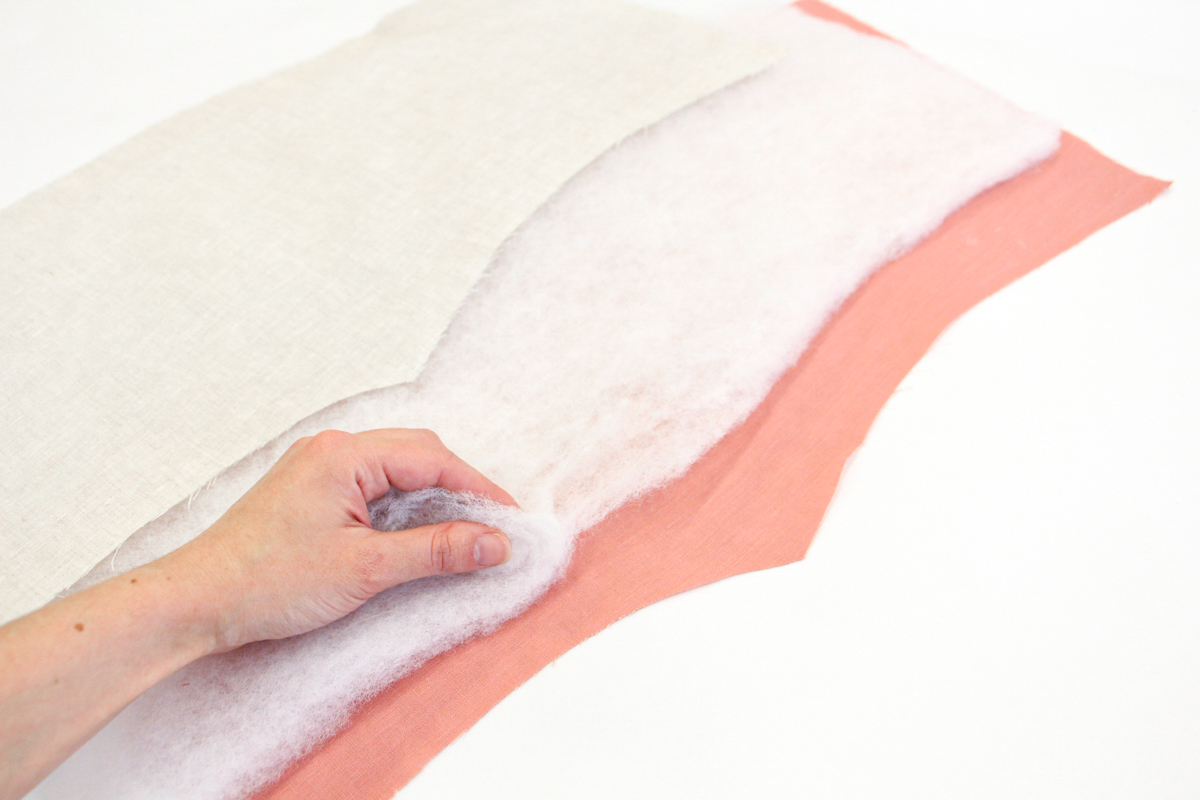 Megan Nielsen Patterns | Hovea Sewalong: Quilting Prep | Reducing Underarm Bulk By Thinning The Batting
