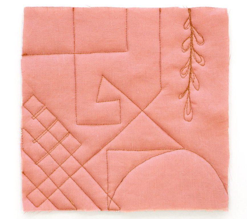 Megan Nielsen Patterns | Hovea Sewalong: Quilting Design | Edge-To-Edge Stitching
