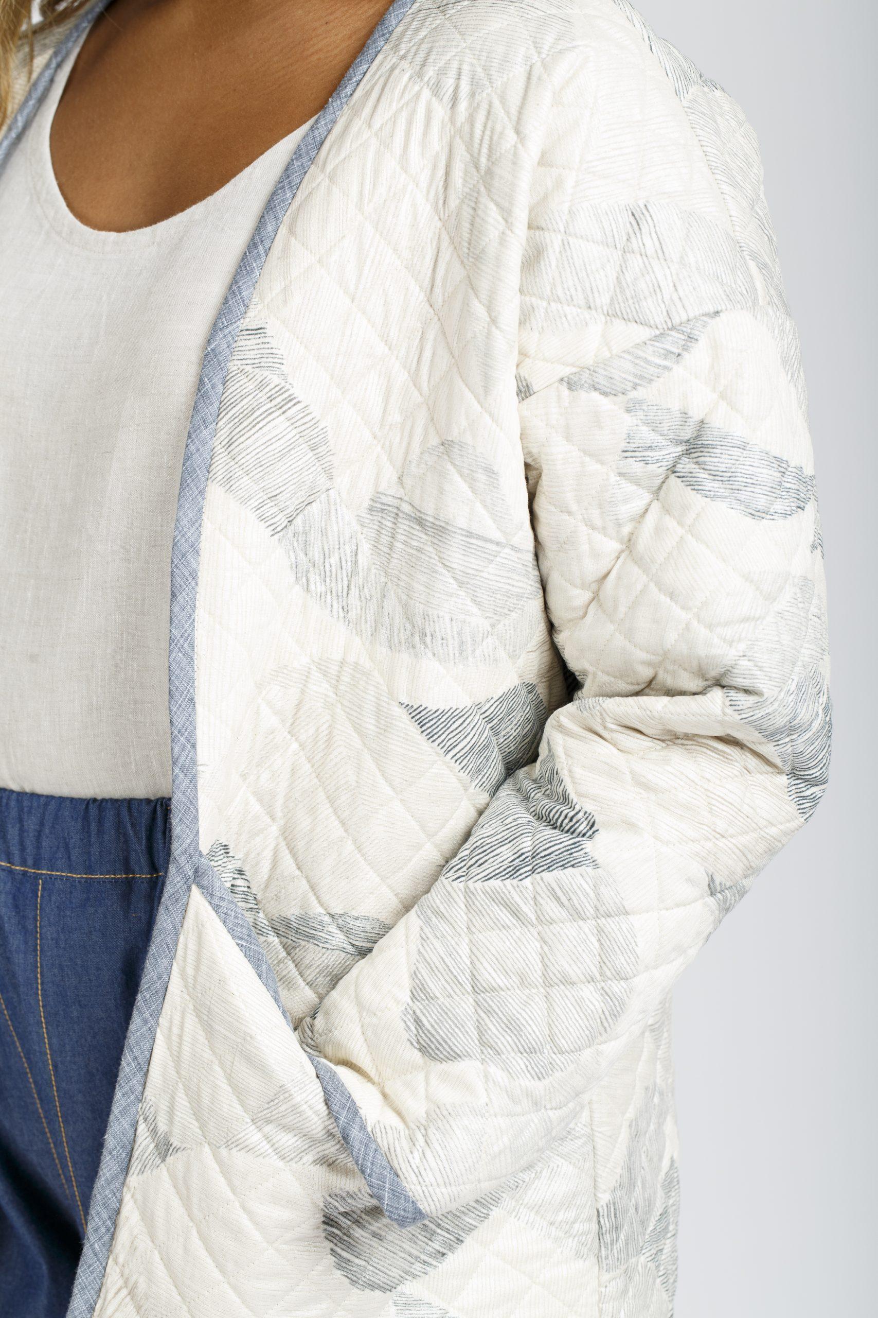 Megan Nielsen Patterns | Hovea Sewalong: Quilting Design | Straight Line Quilting Design