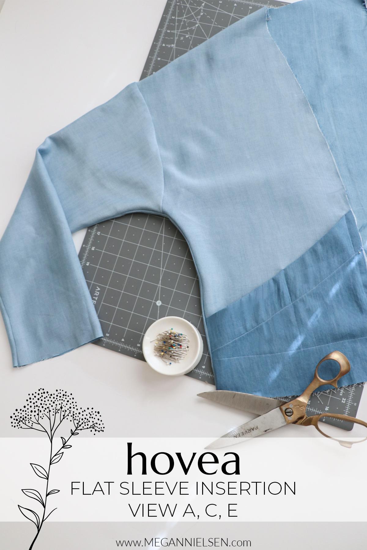 Hovea View A, C & E Flat Sleeve insertion