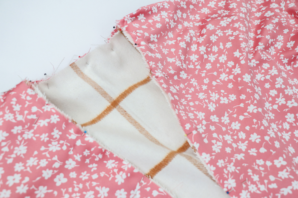 how to add a lining to views ACE of the Hovea sewing pattern by Megan Nielsen Patterns