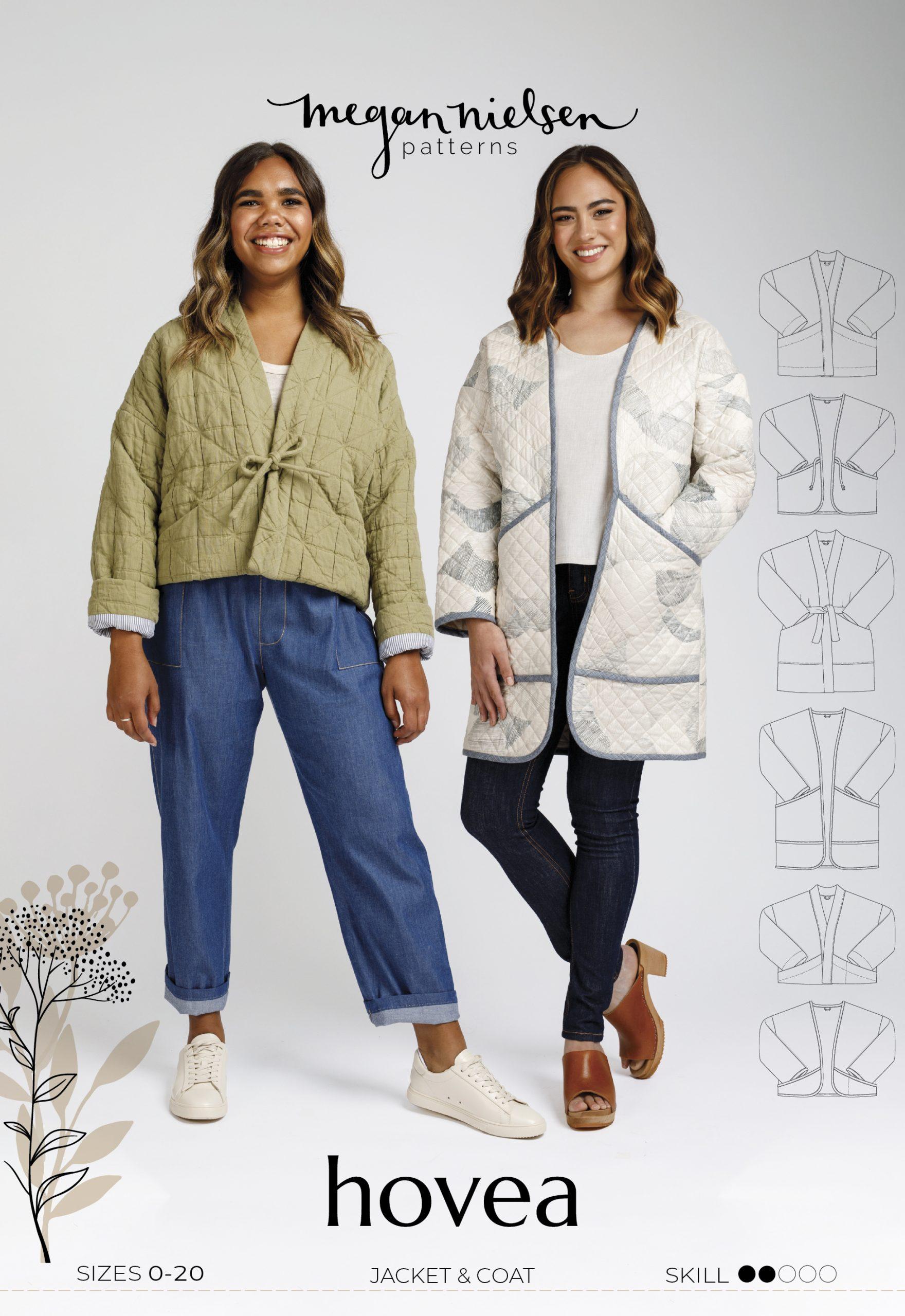 Hovea Quilt Coat pattern