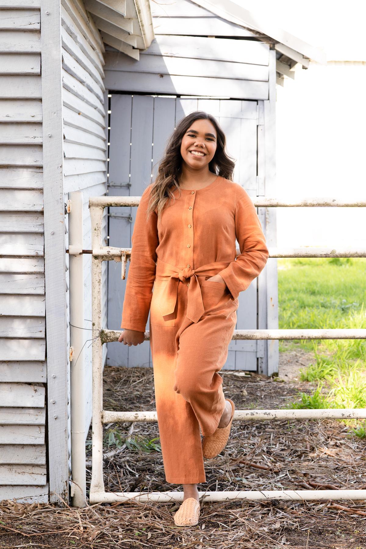 The Durban boiler suit view E | Megan Nielsen Patterns