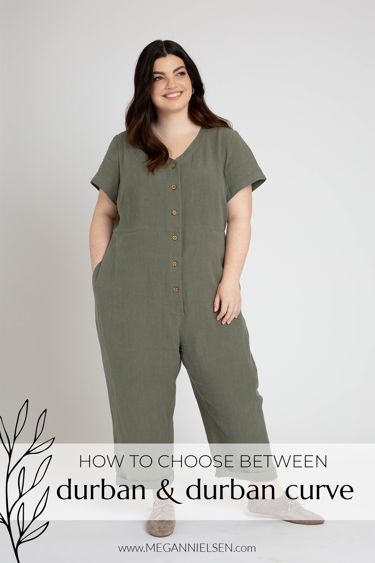 How to Choose Between Durban and Durban Curve sewing patterns | Megan Nielsen Blog