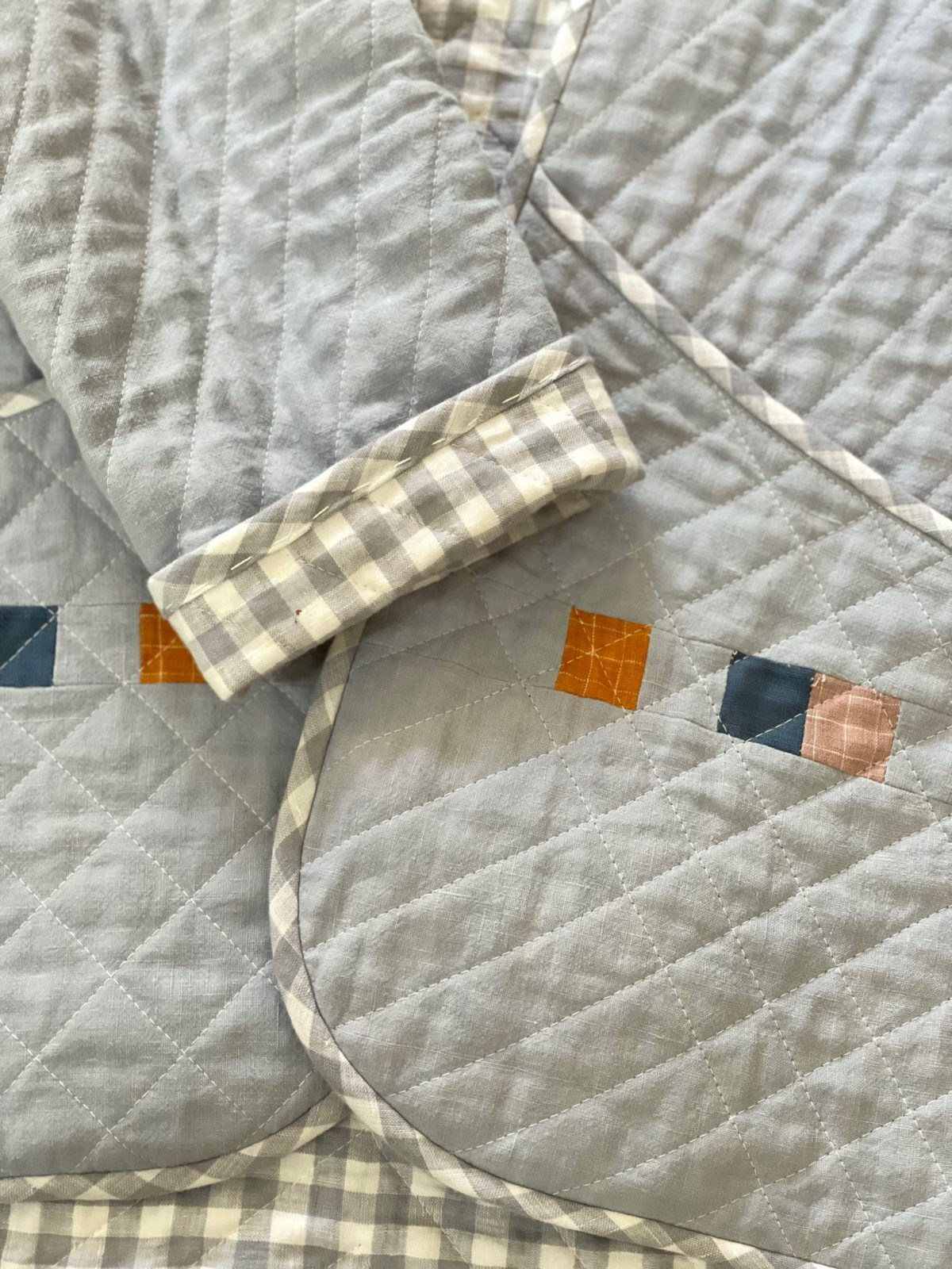 Jodie Tang's Hovea Quilt Coat