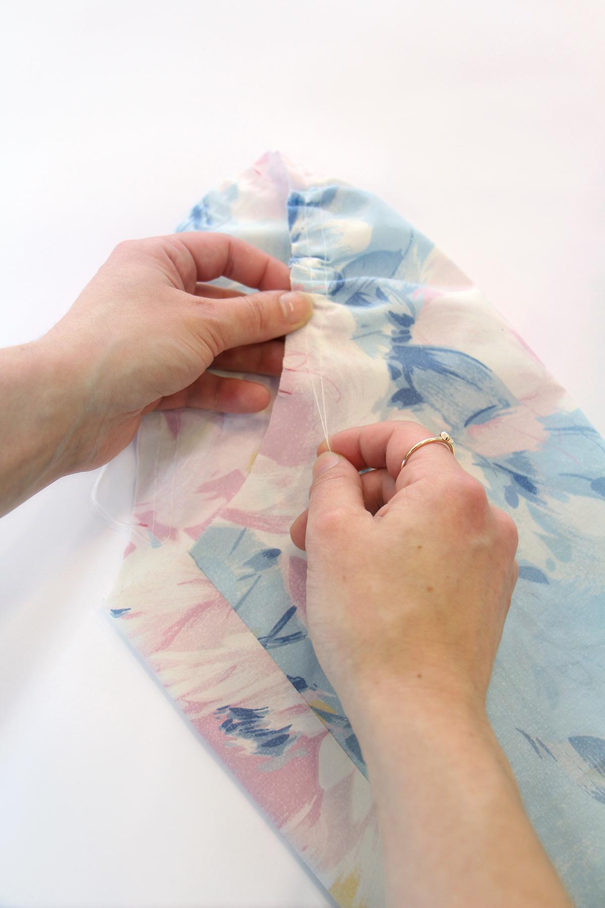 Megan Nielsen Patterns | Matilda Sewalong: Sleeves - Gathering Your Sleeve Head Easing Stitches