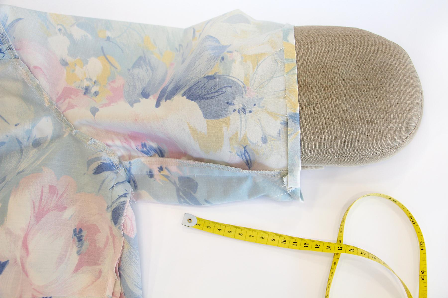 Megan Nielsen Patterns | Matilda Sewalong: Sleeves - First Sleeve Hem Fold