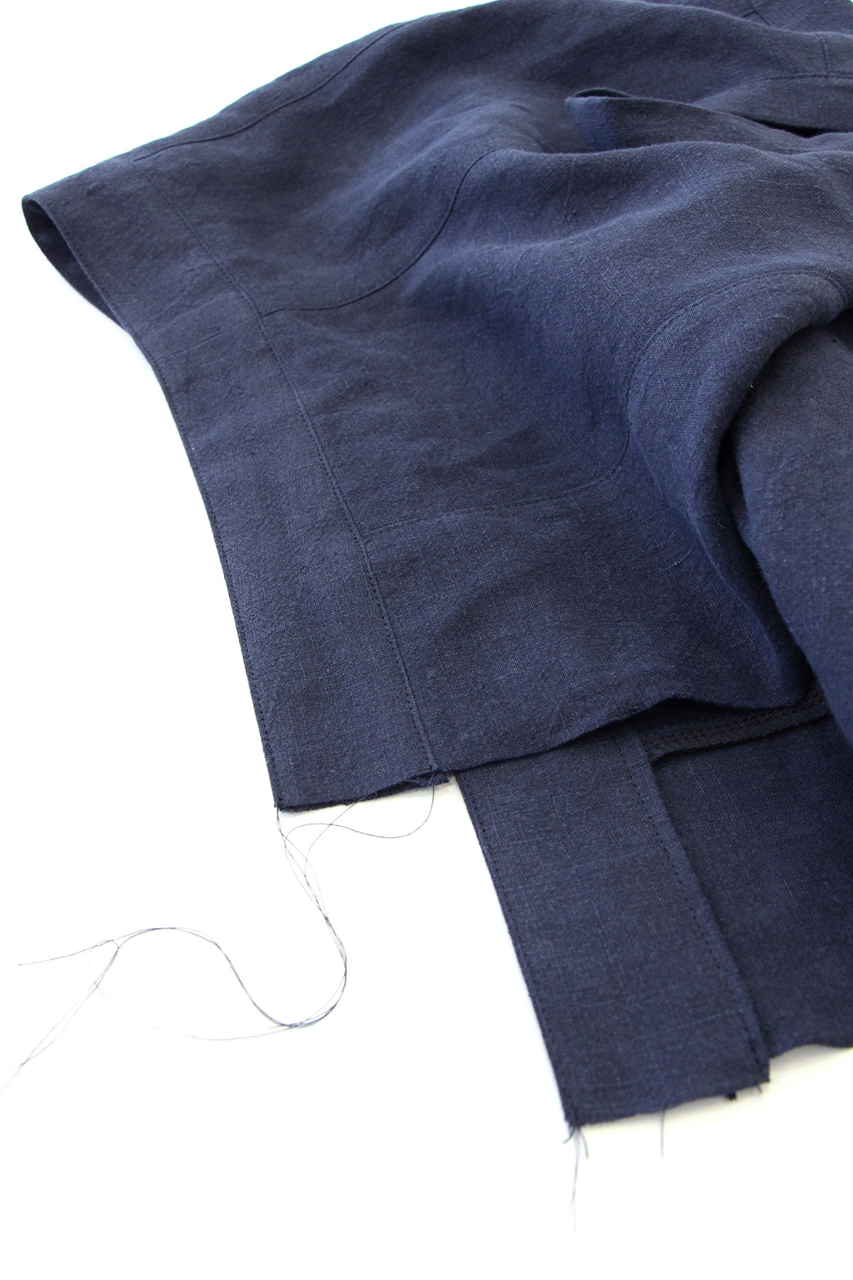 Megan Nielsen Patterns   Matilda Sewalong: Matching Set Hack   Top Stitching Your Top Waistband