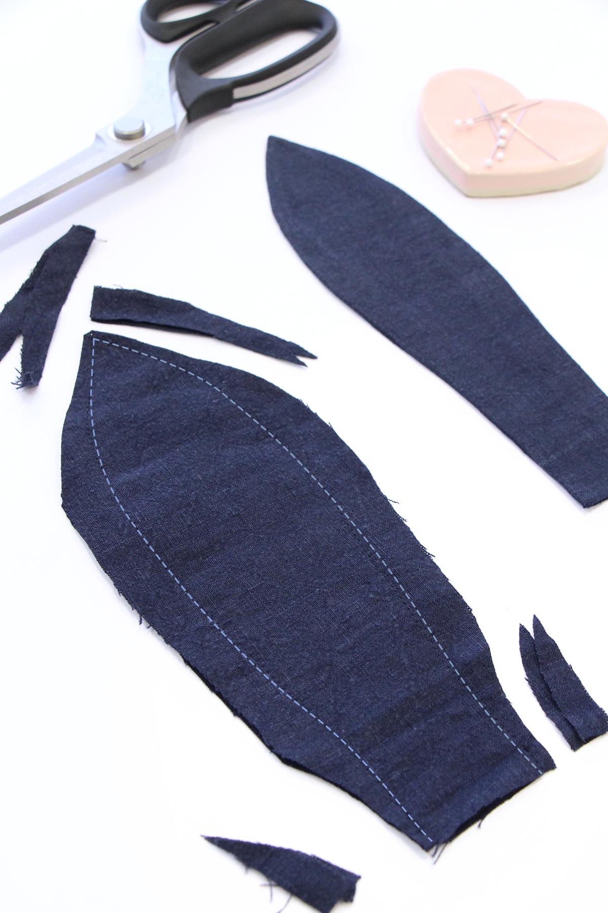 Megan Nielsen Patterns   Matilda Sewalong: Matching Set Hack   Sewing, Trimming & Turning Your Ties