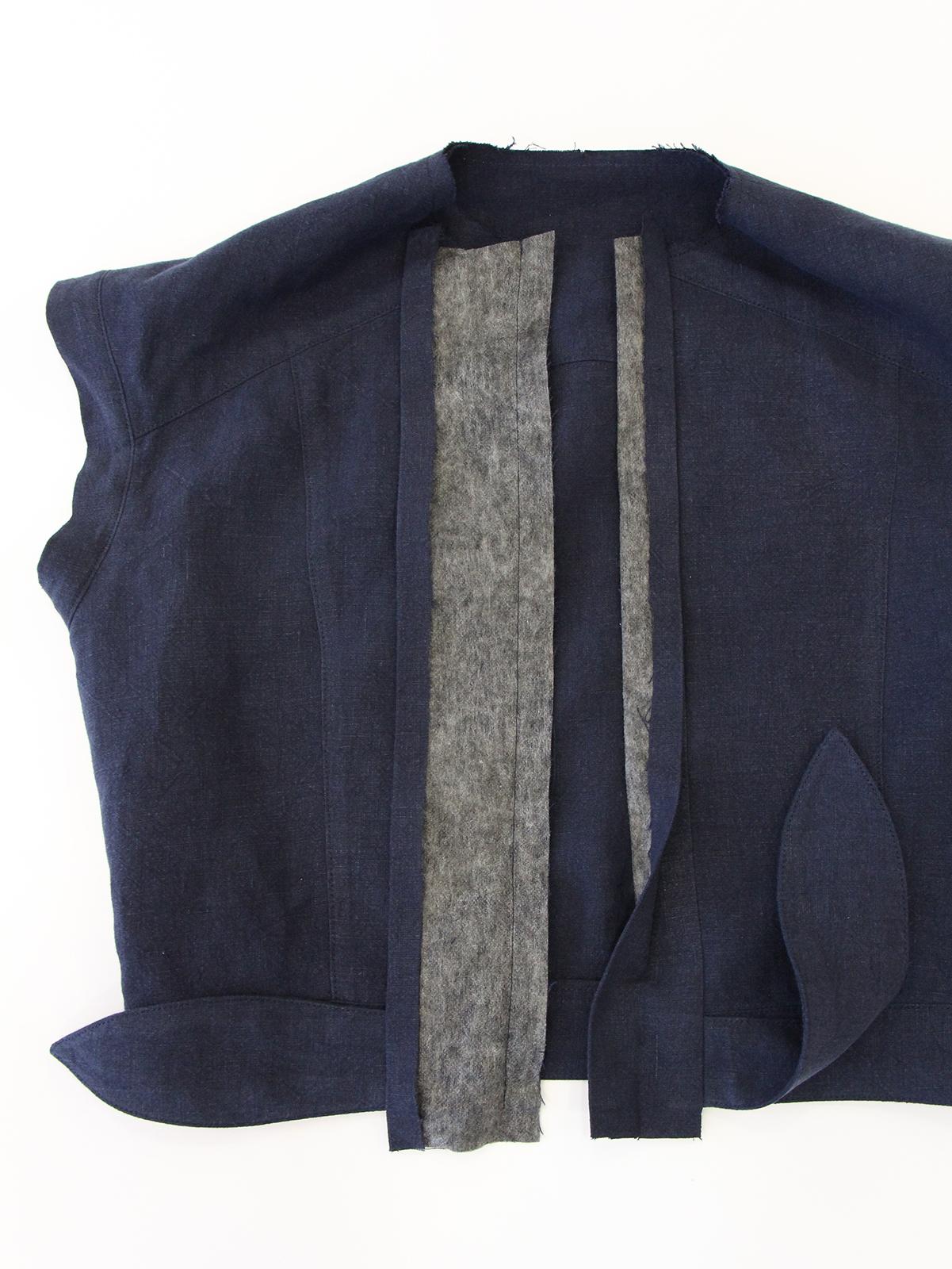 Megan Nielsen Patterns   Matilda Sewalong: Matching Set Hack   Stitching & Folding Your Top Placket