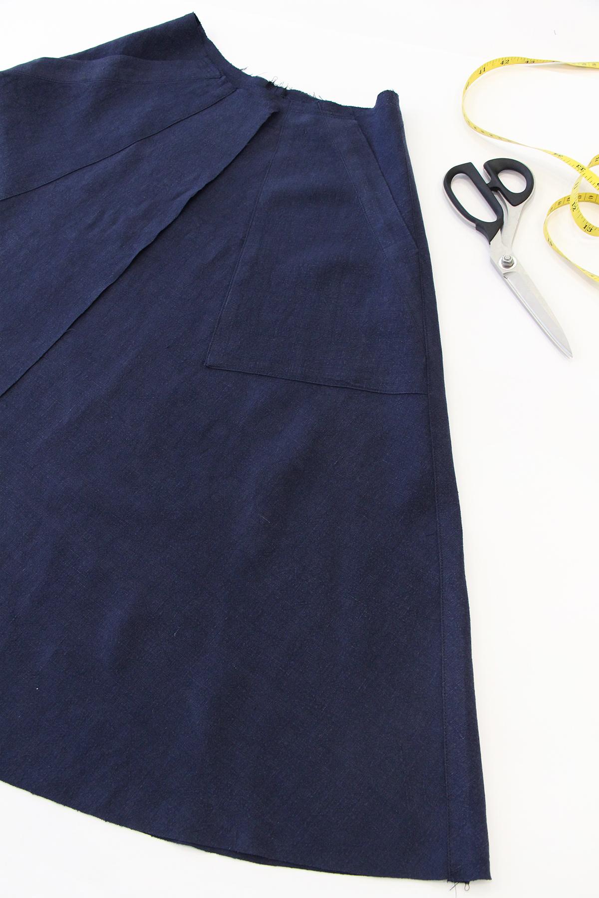 Megan Nielsen Patterns   Matilda Sewalong: Matching Set Hack   Skirt Starting Point