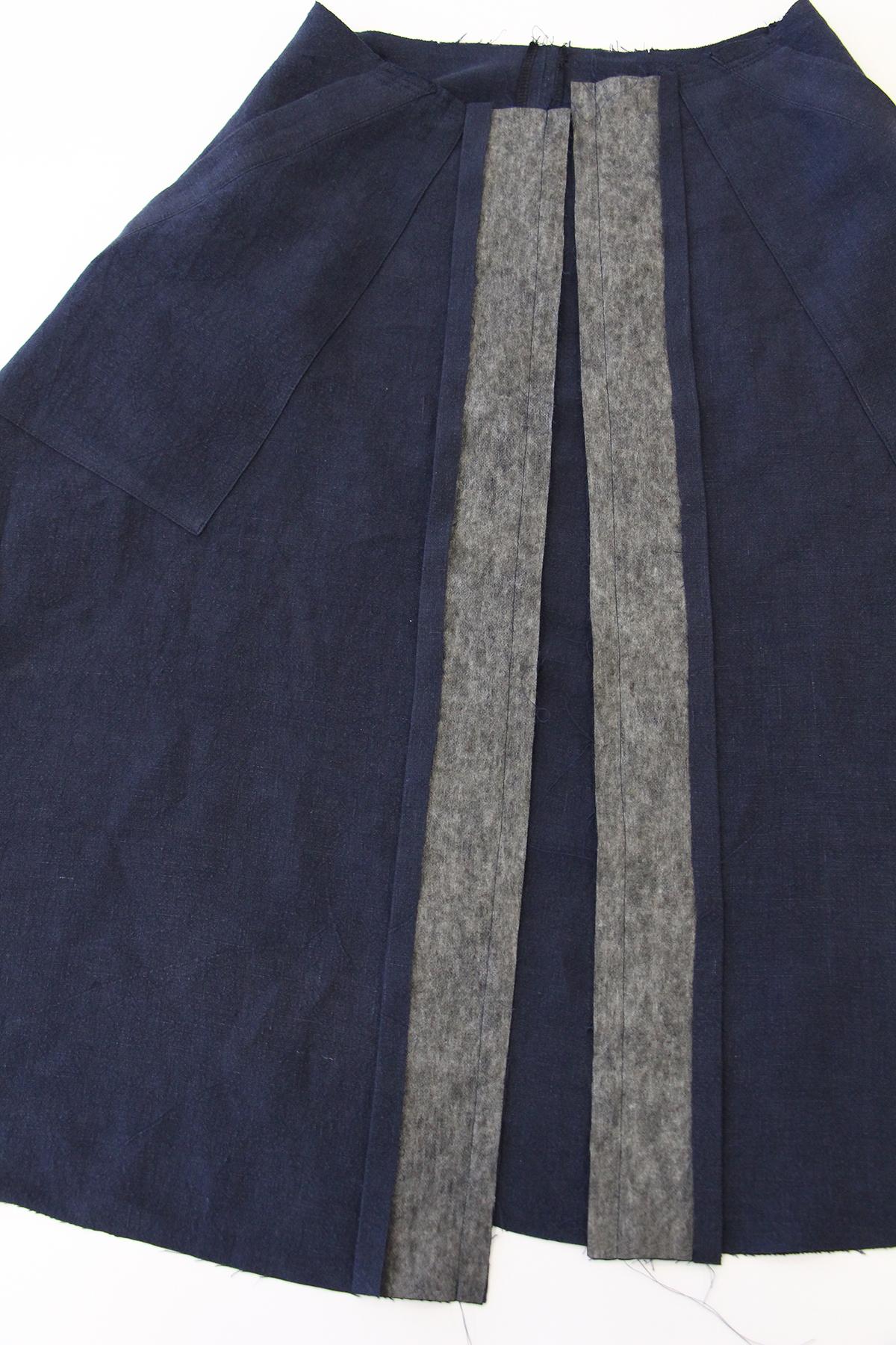Megan Nielsen Patterns   Matilda Sewalong: Matching Set Hack   Pressing & Stitching Your Skirt Placket