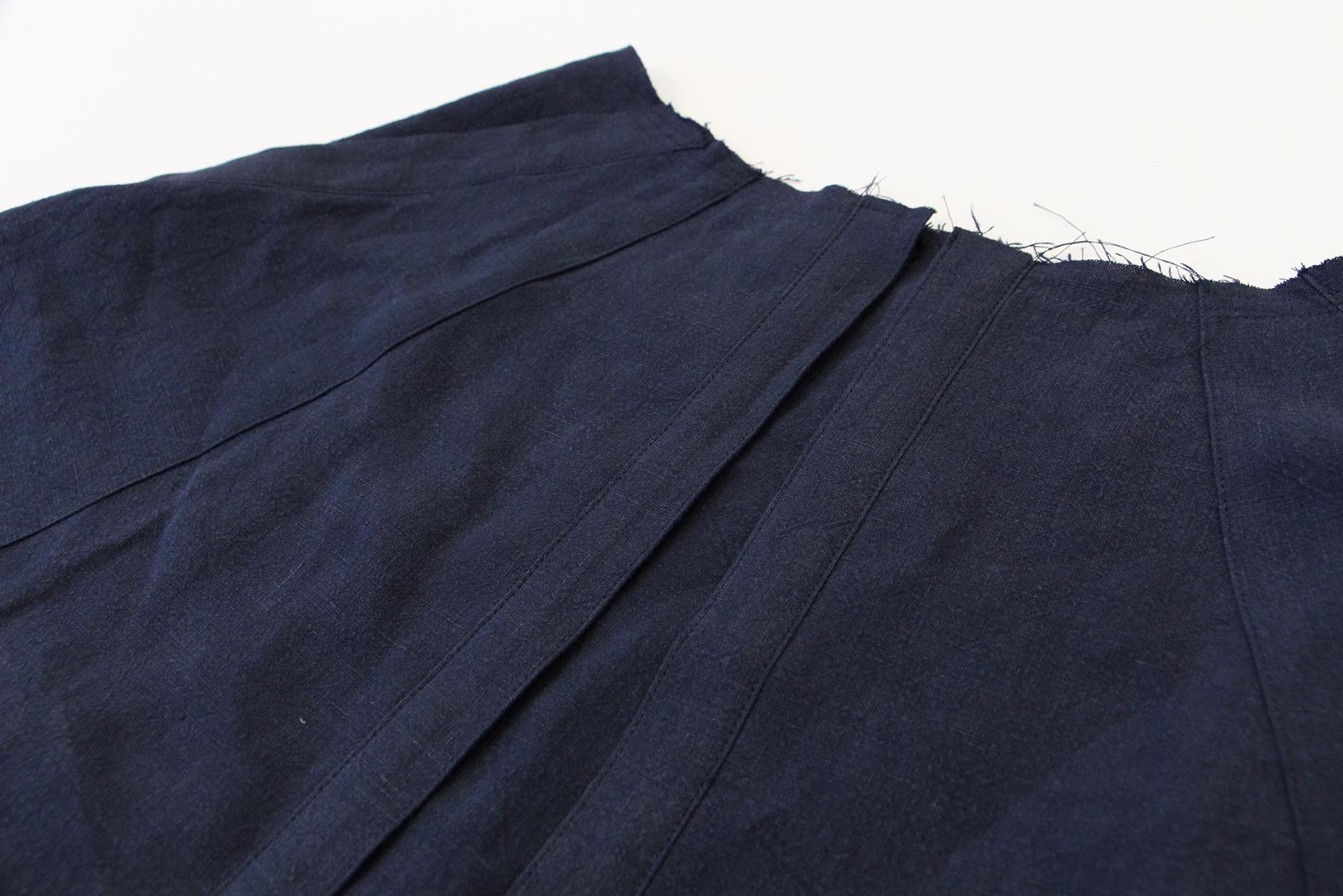 Megan Nielsen Patterns   Matilda Sewalong: Matching Set Hack   Top Stitching Your Skirt Placket