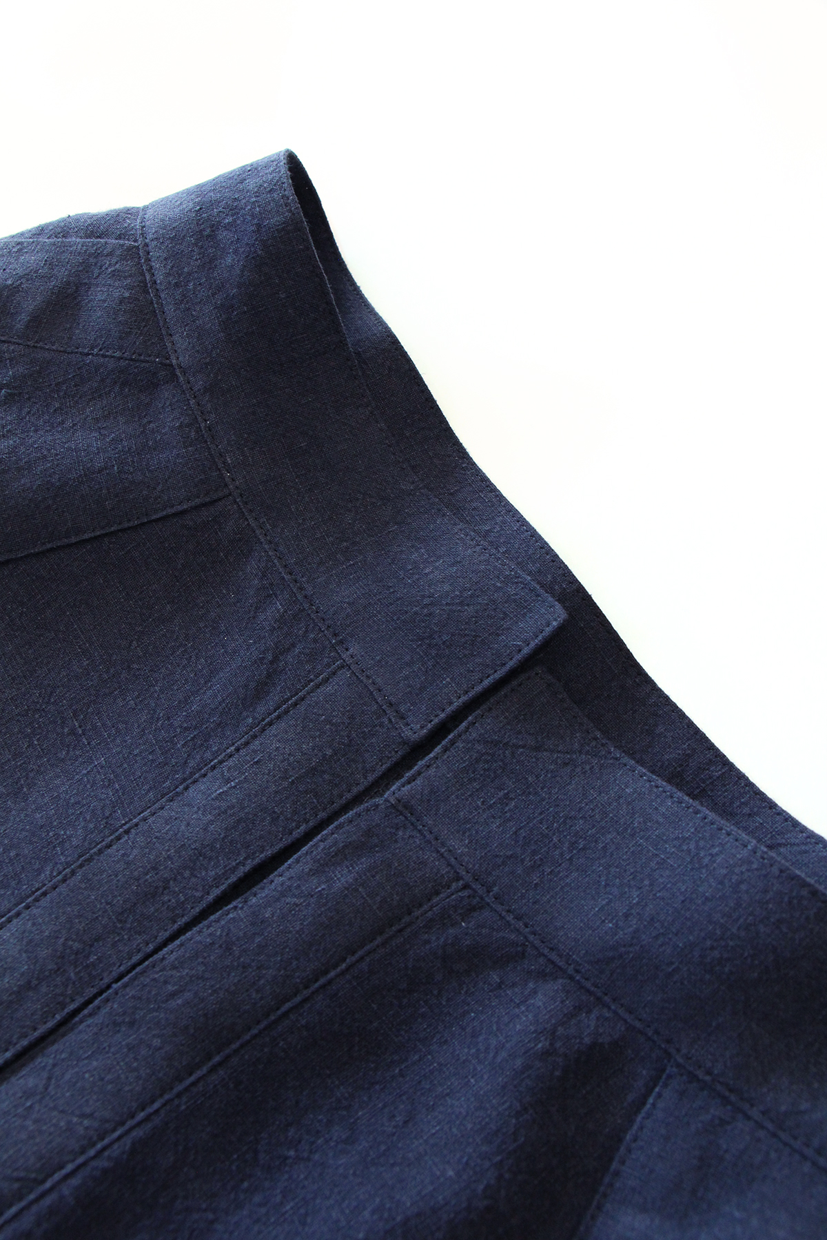 Megan Nielsen Patterns   Matilda Sewalong: Matching Set Hack   Top Stitching Your Skirt Waistband