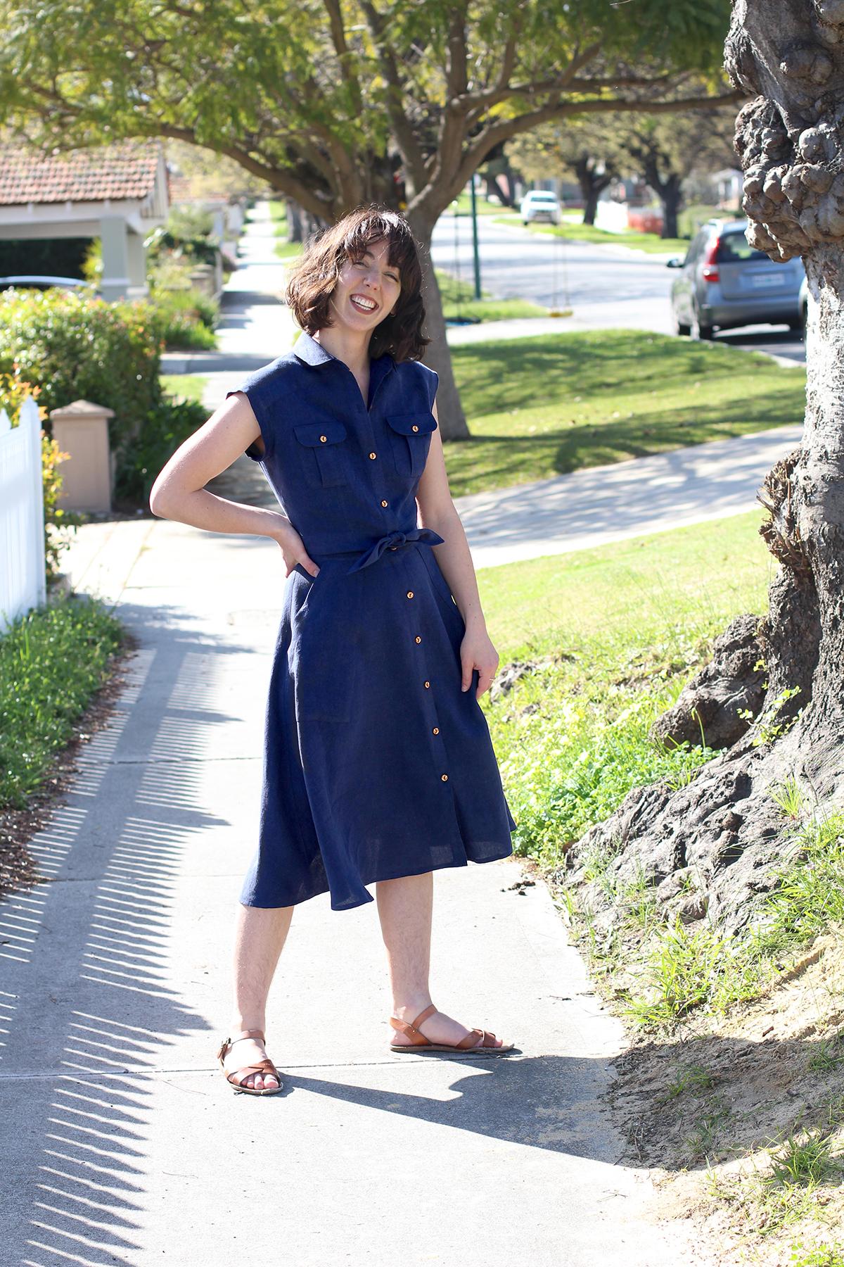 Megan Nielsen Patterns   Matilda Sewalong: Matching Set Hack   The Finished Product