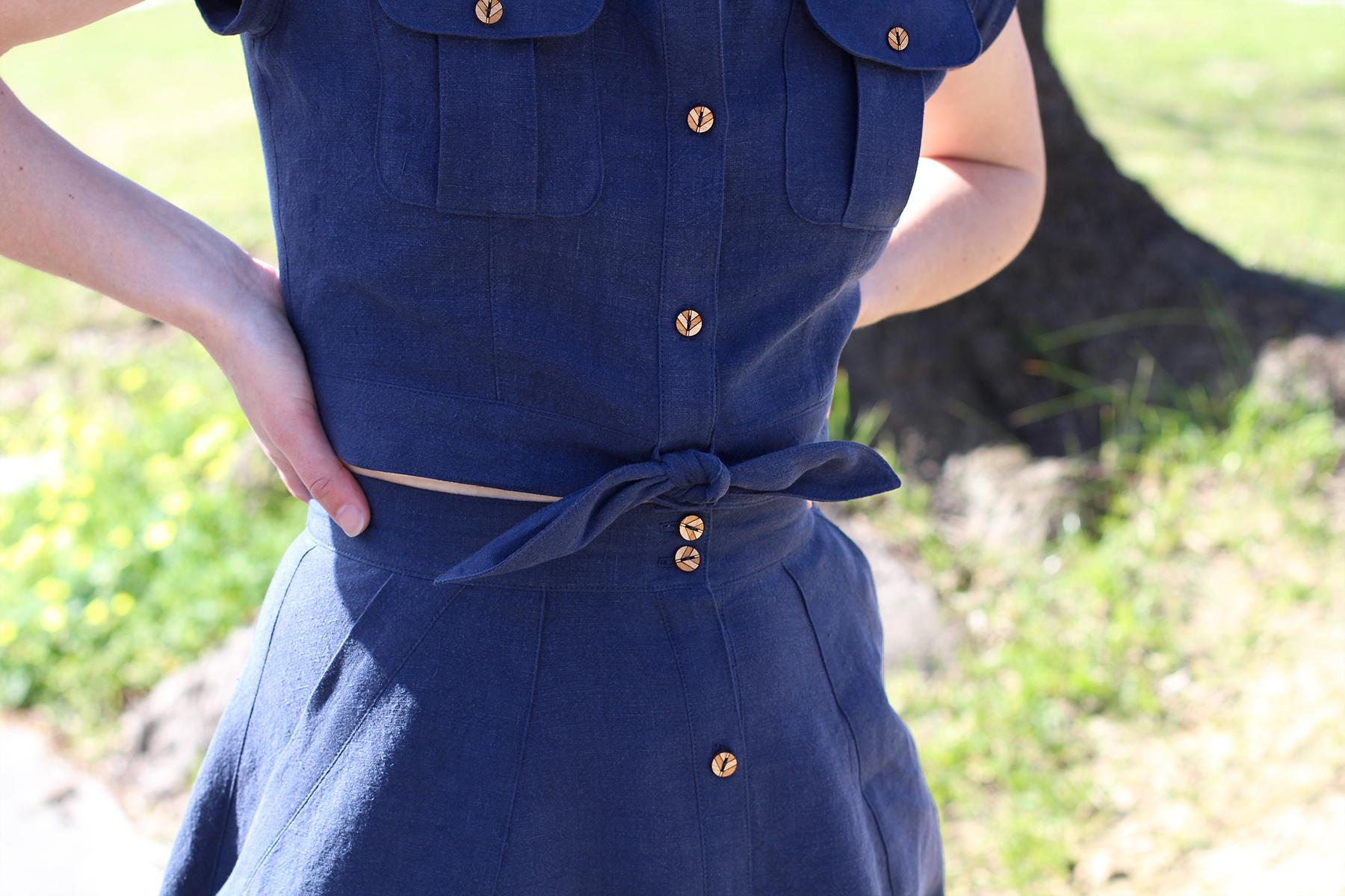 Megan Nielsen Patterns   Matilda Sewalong: Matching Set Hack   Garment Details