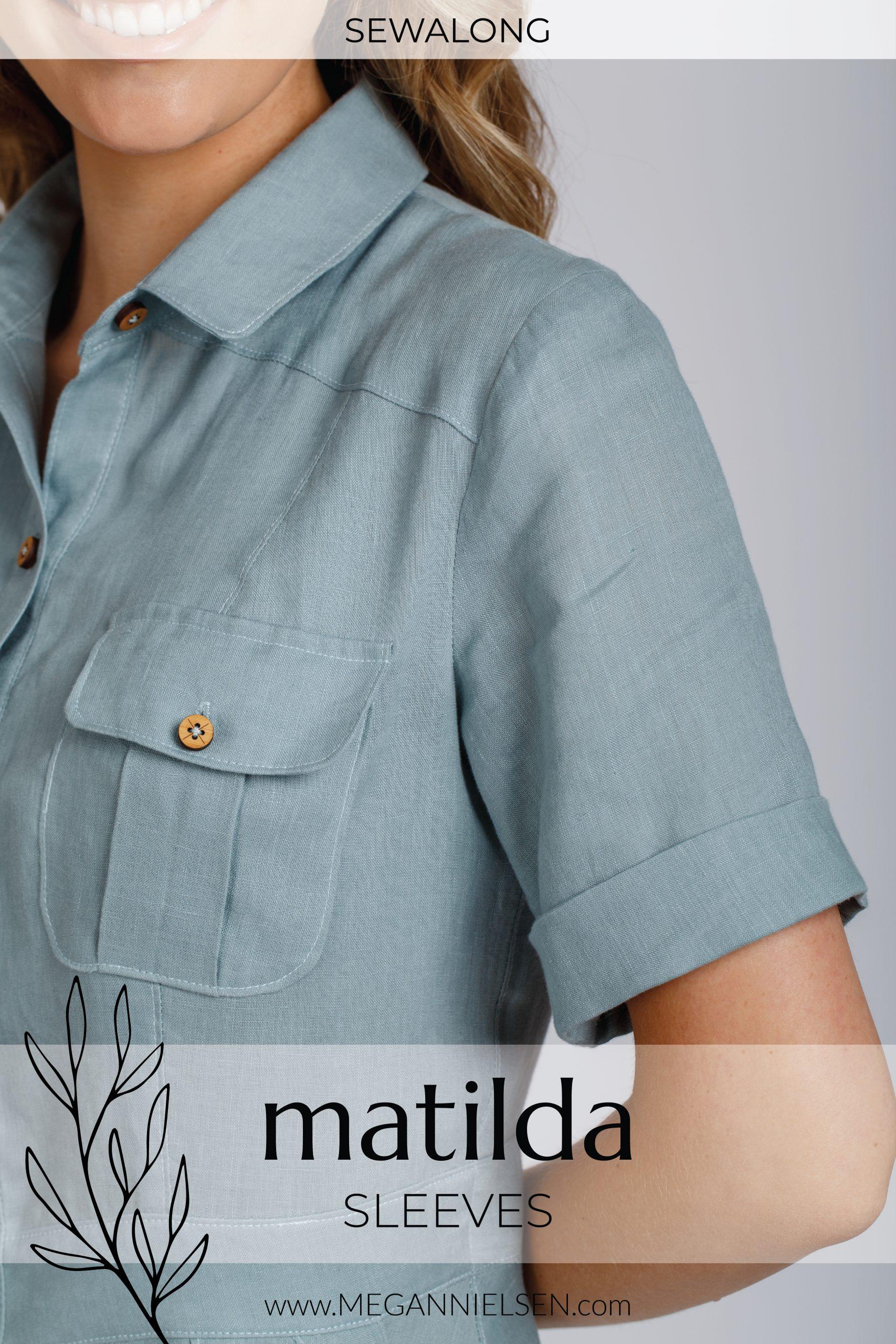 Megan Nielsen Patterns | Matilda Sewalong: Sleeves