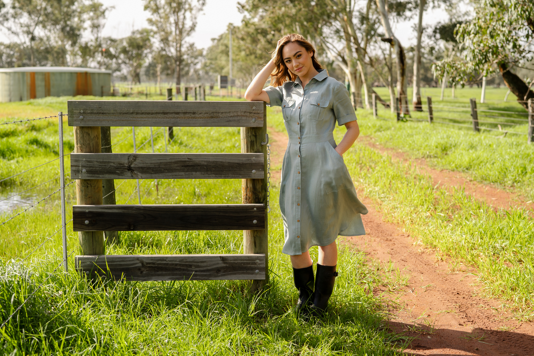 How to sew the Matilda dress sleeves