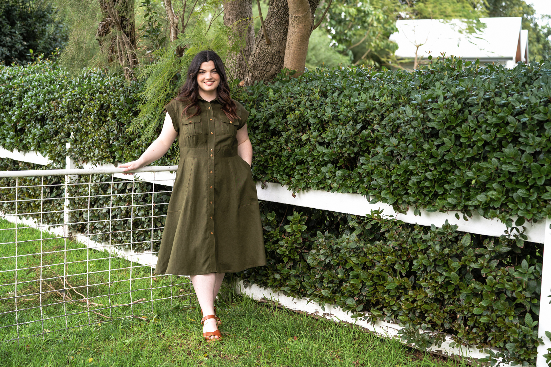 Introducing Matilda Curve available in sizes 14-34 | Megan Nielsen Patterns